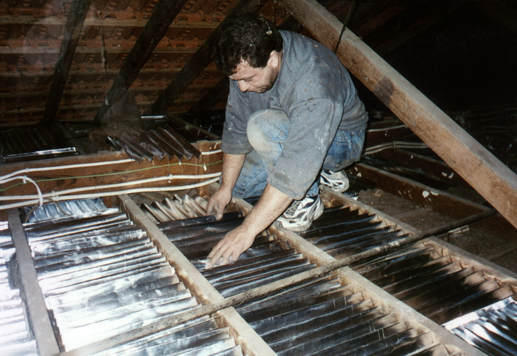 joists visible
